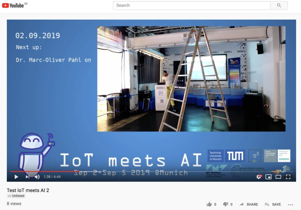 IoT meets AI: We will live stream!