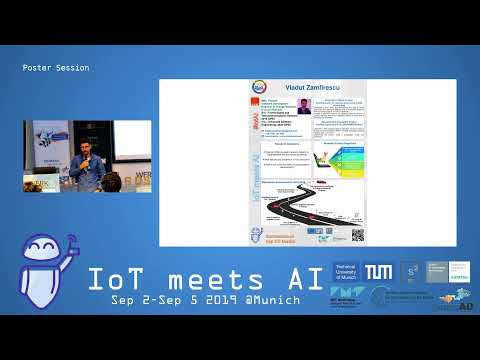 IoT meets AI Day 1 – Poster Session