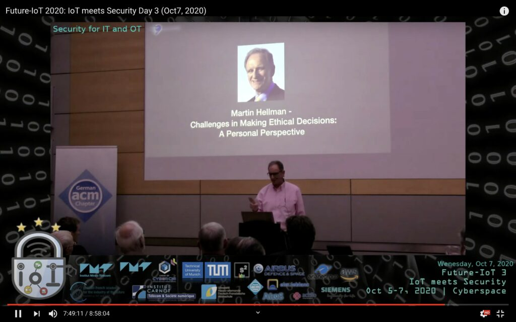 Future-IoT 2020: Day 3 – IoT, OT, you, and the ethics!