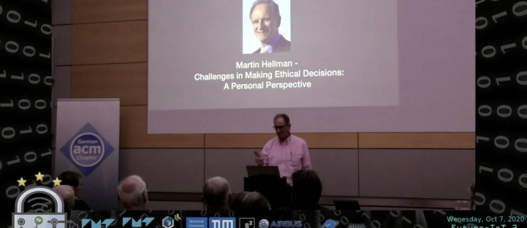 Martin Hellmann on Ethical Decision Making