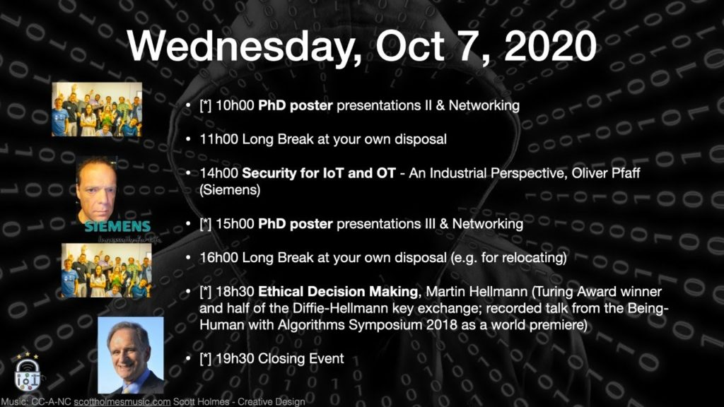 Future-IoT 2020: Join the Livestream of Day 3