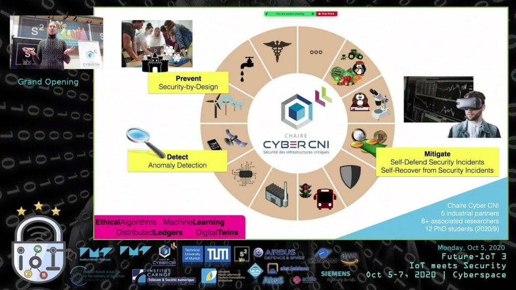 "[REC] IoT meets Security – Marc-Oliver Pahl (IMT Atlantique / TUM) at Future-IoT 3rd edition: ""IoT meets Security"" (2020-10-05)"