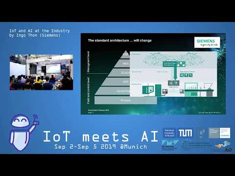 IoT Meets AI 2019 – IoT and AI at the Industry by Ingo Thon (Siemens)