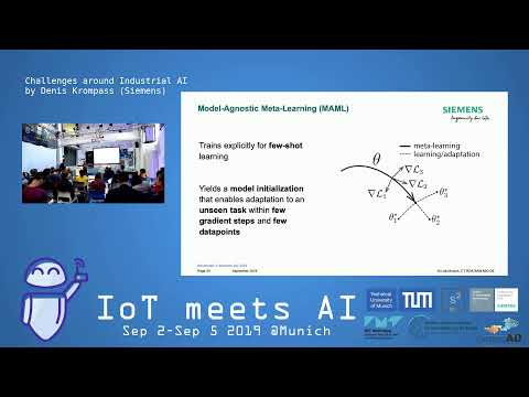 IoT meets AI 2019 – Challenges around Industrial AI by Denis Krompass (Siemens)