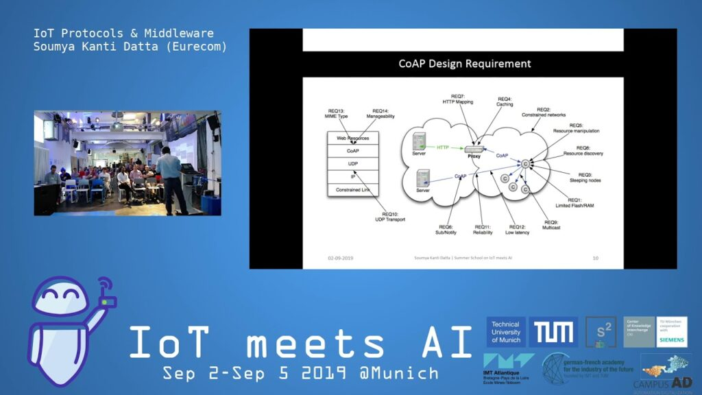 IoT meets AI 2019 – IoT Protocols & Middleware by Soumya Kanti Datta (Eurecom)