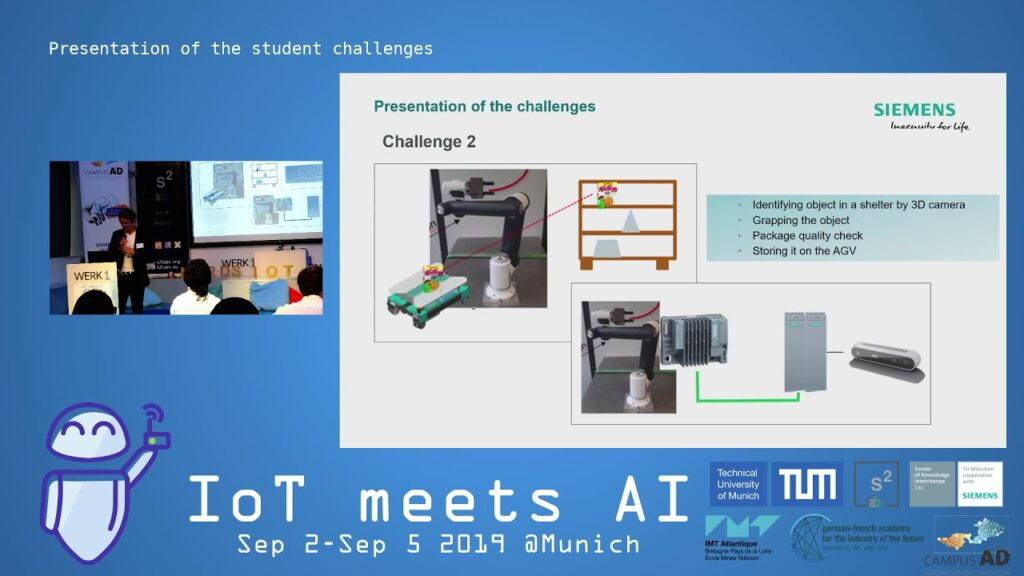 IoT meets AI 2019 – Presentation of the student challenges through the project teams