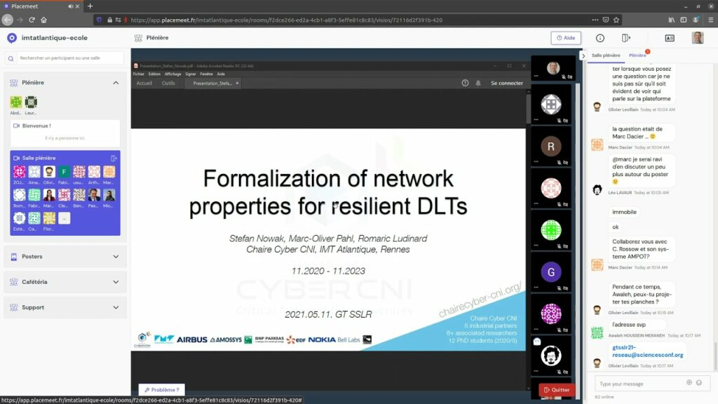 GTSSLR: Formalization of network properties for resilient DLTs