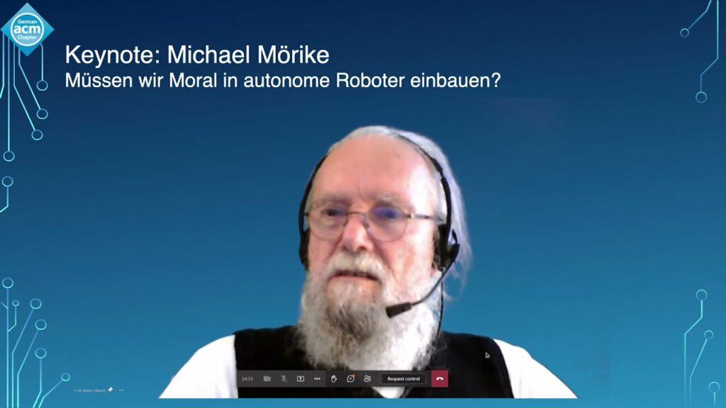 Michael Mörike – Müssen wir Moral in autonome Roboter einbauen?